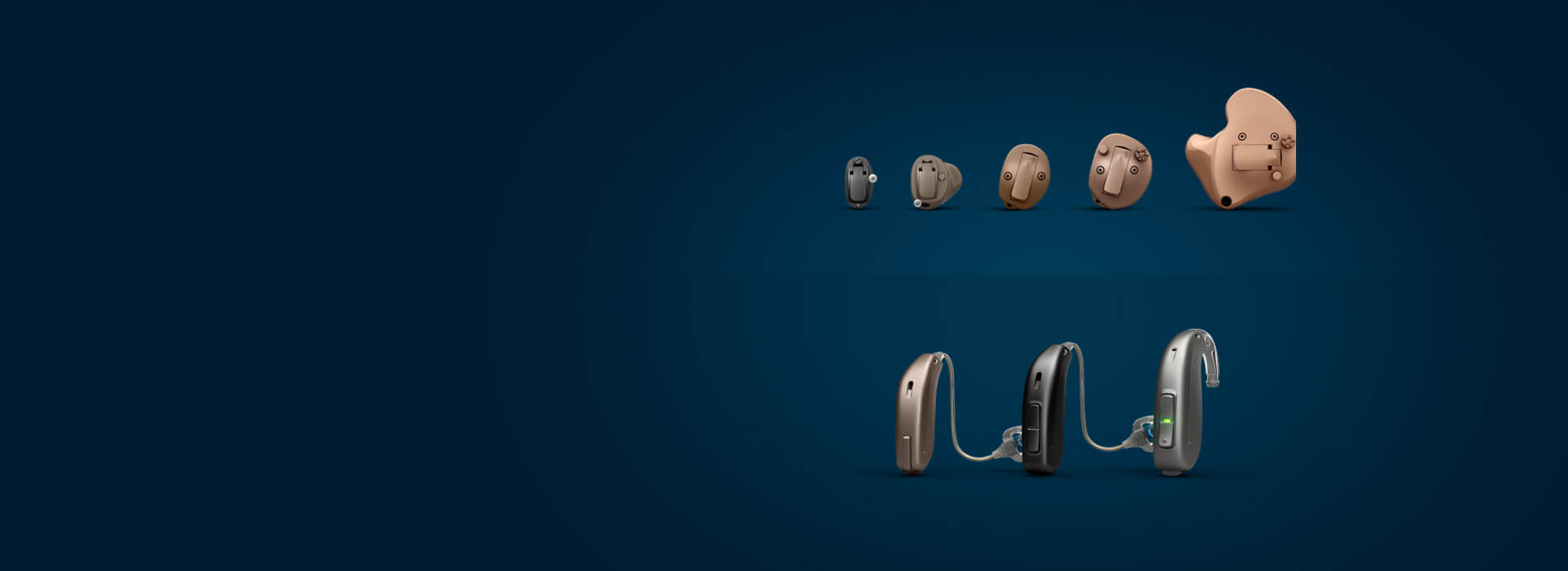 Types of hearing aids